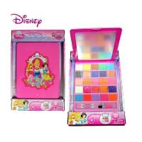 正版 迪士尼儿童化妆品 化妆盒 口红 眼影 儿童女孩六一表演礼,迪士尼品牌专为儿童设计,水溶性配方、不含人工防腐剂,无