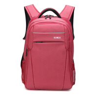 巴米克 大容量休闲商务旅行双肩背包15.6寸双肩笔记本电脑包14寸男女大中高学生休闲书包