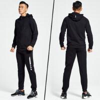 男士运动套装两件套吸汗透气训练健身房健身速干衣训练服装