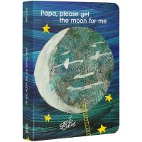 爸爸请为我摘月亮 英文原版 Papa please get the moon for me儿童启蒙绘本 廖彩杏书单Eri