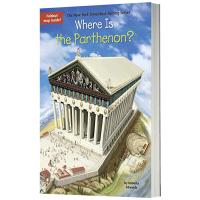 帕特农神庙在哪里英文版原版 Where Is the Parthenon 英文原版儿童桥梁章节书 中小学生读物 现货正