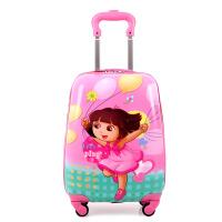 18寸万向轮拉杆箱新版米妮米奇可爱卡通儿童旅行箱可定制 18寸