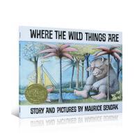 吴敏兰绘本123推荐第121本 Where the Wild Things Are 野兽出没的地方 8度凯迪克奖获得者Maurice Sendak代表作品 凯迪克金奖作品 送音频