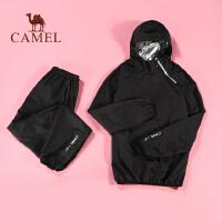camel骆驼 新品瑜伽套装男款暴汗服运动发汗上衣排汗服控体爆汗服