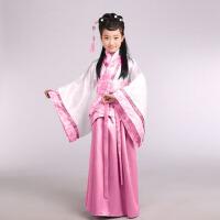 古装儿童汉服 幼儿园国学男女童民族舞蹈表演服装三字经演出服 民族经典儿童汉服
