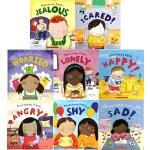英文原版 Everybody Feels 系列 情绪管理与性格培养 4册绘本合售