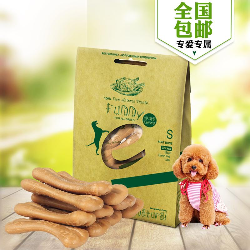 耐威克宠物零食 贵宾泰迪金毛狗鸡肉味真棒洁齿骨100g磨牙棒全国包邮(新疆、西藏地区除外) 满199-20