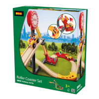 [当当自营]BRIO 云霄飞车轨道套装 儿童益智拼插木制轨道小火车玩具 BR33730