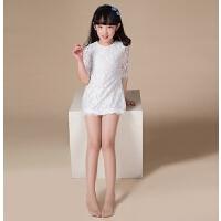 夏天女童可爱丝袜裤袜丝连裤袜薄儿童夏季薄款白色舞蹈袜子