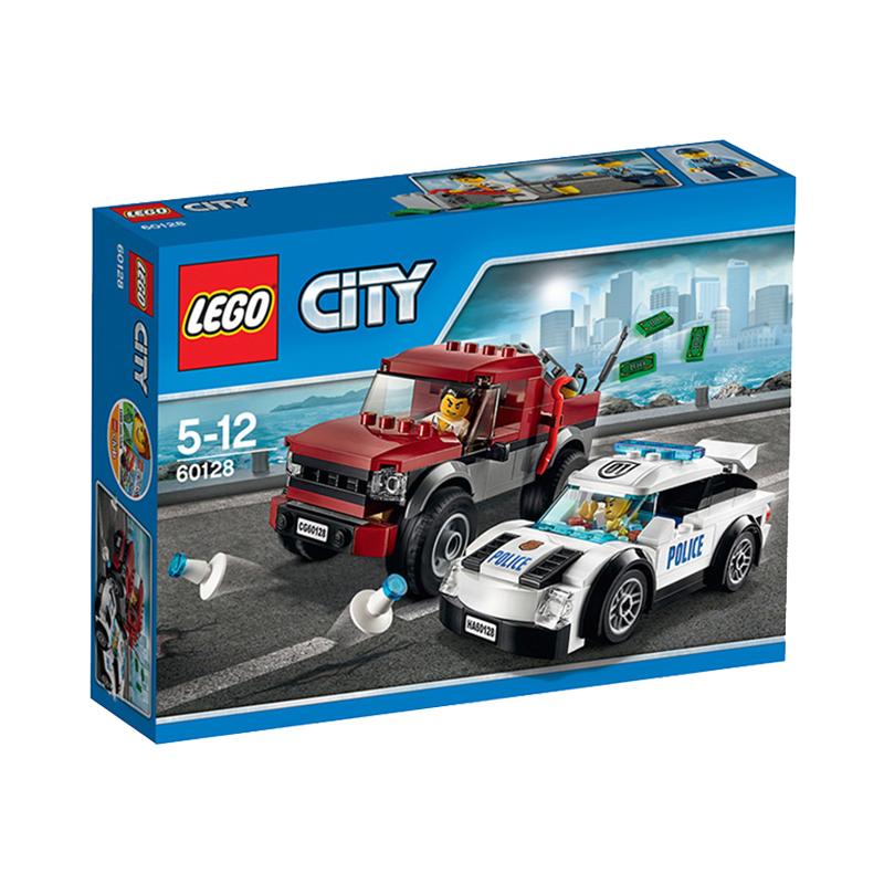 美国直邮 LEGO乐高 城市警方追捕184 PCS 60128 海外购 乐高城市警方追捕