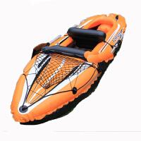 入门级双人充气独木舟 橡皮艇 充气船 皮划艇 充气艇