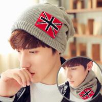 帽子男士冬季冬天韩版潮秋针织帽毛线帽韩国户外保暖青年包头帽女