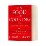 【预订】On Food and Cooking,美食与烹饪 经典饮食烹饪料理图书 分子料理 英文原版
