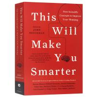 正版现货 那些让你更聪明的科学新概念 英文原版科学书 This Will Make You Smarter 约翰布罗克