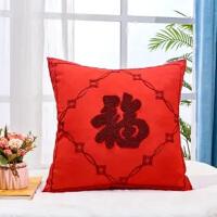 中式刺绣抱枕腰靠腰托办公室睡觉神器午睡枕趴睡沙发车内床头靠垫