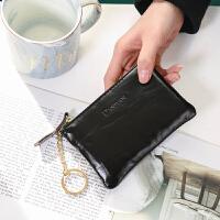 皮零钱包女日韩版大容量男女式钱夹皮夹手拿包拉链学生硬币包女
