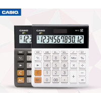 办公财务 卡西欧计算器MH/DH-12双色办公财务 12位宽屏显示会计计算机