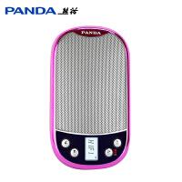 PANDA/熊猫DS-123老人随身听插卡播放器老年收音机便携式小音箱迷你袖珍可充电听戏机戏曲故事外放