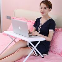 索尔诺笔记本电脑桌床上用学习小桌子可折叠宿舍神器懒人简约书桌DNZ625