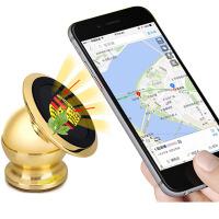 车载手机支架磁性创意汽车用出风口吸盘手机座导航仪支架仪表台360度旋转多功能通用
