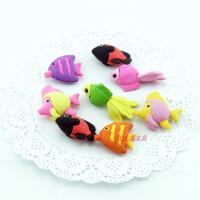 韩国创意文具可分身小金鱼橡皮 高档盒装自由组合橡皮擦 小学生奖品 儿童玩具
