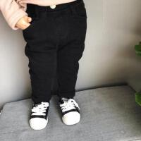 加厚魔术裤宝宝加绒紧身裤儿童打底裤加厚牛仔裤男女宝裤