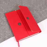 中国风礼品 开门红创意日记本记事本手帐文具中国风笔记本商务礼品生日礼物送外国友人 开门红笔记本