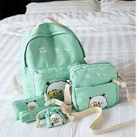 韩版帆布儿童可爱书包小学生女孩2-3-5-6年级双肩女童公主6-岁