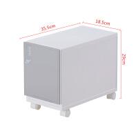 夹缝收纳柜塑料抽屉式缝隙整理窄柜厨房置物柜浴室储物柜18.5cm宽 1个