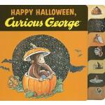 【预订】Happy Halloween, Curious George tabbed board book
