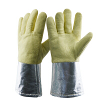 耐高温手套铝阻燃隔热防烫厨房烘焙工业锅炉冶铁铸造作业劳保用品