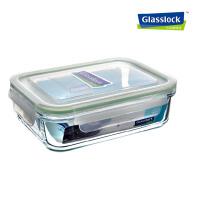GlassLock/三光云彩韩国进口钢化玻璃乐扣保鲜盒饭盒MCRB100/RP533 1000ml