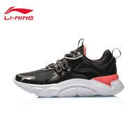 李宁跑步鞋女鞋2020新款减震轻便跑鞋鞋子女士耐磨回弹低帮运动鞋ARHQ116