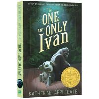 英文原版儿童小说 The One and Only Ivan 的伊凡 英文版原版 纽伯瑞金奖 儿童文学阅读 现货正版进口