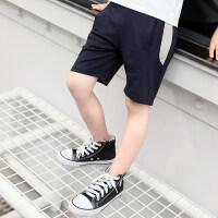 童装男童裤子运动短裤薄款夏装2018新款中大童儿童中裤五分裤潮