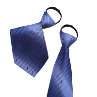 正装商务领带 男士结婚领带红色 男士易拉得领带
