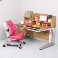 实木学习桌可升降中小学生多功能书桌家用橡木写字台