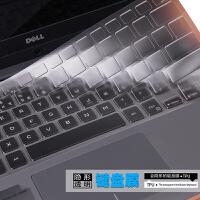 膜大师 dell戴尔燃7000-14,燃7000-15,魔方14,魔方15笔记本电脑键盘透明保护贴膜15.6寸