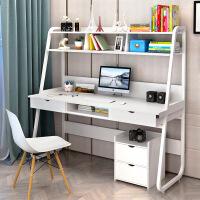简易家用台式电脑桌宜家家居书桌书架办公桌子旗舰家具店
