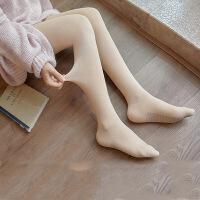 打底裤 女士外穿光腿一体裤2020春秋新款女式天鹅绒肉色美腿石墨烯连裤袜子