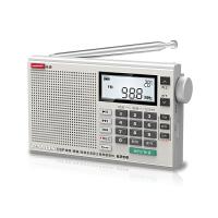 PANDA/熊猫 6206可充电老人收音机老年人全波段便携插卡袖珍半导体fm广播大音量调频中波短波外放数字