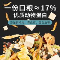 仓鼠食物主粮营养饲料老年侏儒三线花枝鼠金丝熊自配粮食冻干零食