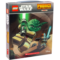 LEGO Star Wars Phonics 乐高星球大战12册 自然拼读盒装 英文原版绘本 天行者 绝地武士故事图画书
