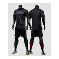 新款巴萨曼城国米罗马博卡球衣第二客场足球服光板套装个性 黑色 18款曼联黑