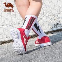 小骆驼童鞋男童运动鞋儿童春秋新款网面厚底跑步鞋女童缓震鞋子潮