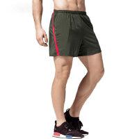 运动短裤男速干 男士跑步拼色三分裤 篮球马拉松田径训练健身短裤