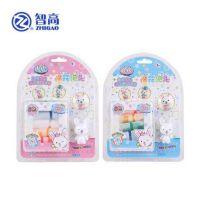 智高棉花泡泡DIY粘土儿童无毒橡皮泥益智玩具 KK-9046随机