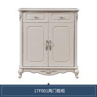 家私 欧式鞋柜 白色门厅柜组装简欧经济型鞋柜17F1 组装