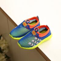 夏季儿童运动鞋镂空女童凉鞋男童跑步鞋中大童休闲网鞋