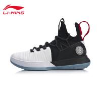 李宁篮球鞋男鞋AIT VI2019新款减震耐磨防滑包裹一体织高帮战靴ABAP005